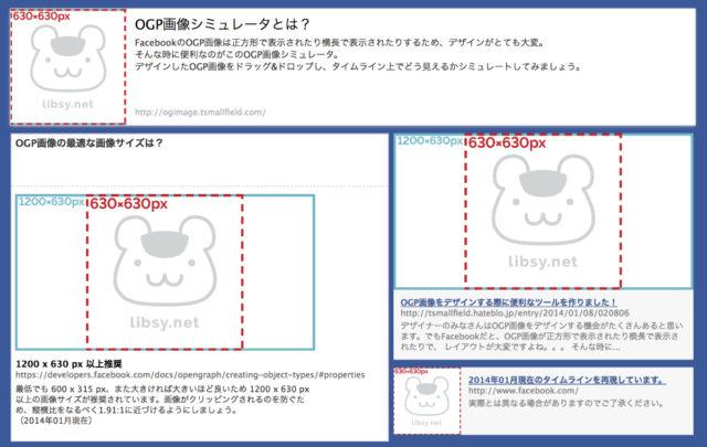 OGP画像シミュレータによる検証結果