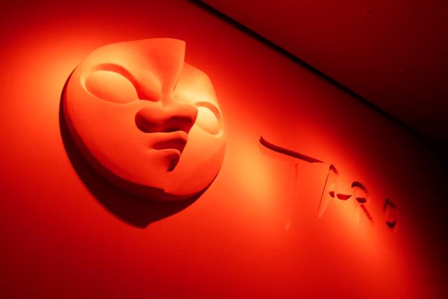 川崎市岡本太郎美術館 展示室入口