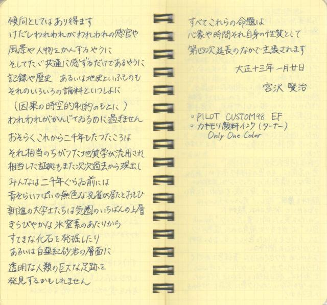 カキモリオリジナル顔料インク