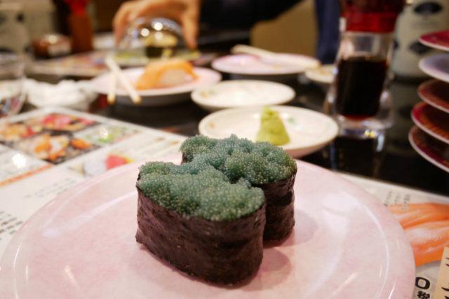寿司 アマエビの卵