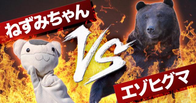 ねずみちゃん vs エゾヒグマ
